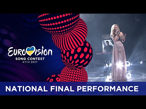 Kasia Moś - Flashlight (Poland) Eurovision 2017 - National Final Performance