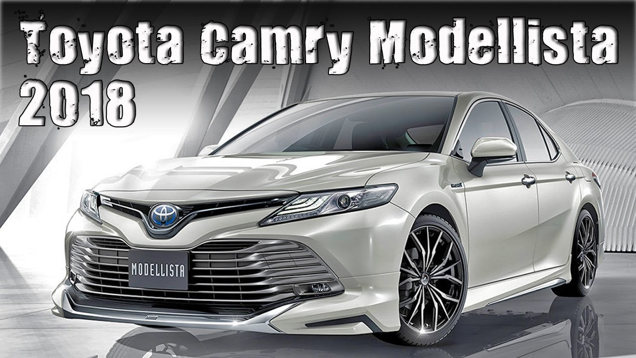 2018 toyota camry modellista and trd jdm special editions youtube. Black Bedroom Furniture Sets. Home Design Ideas