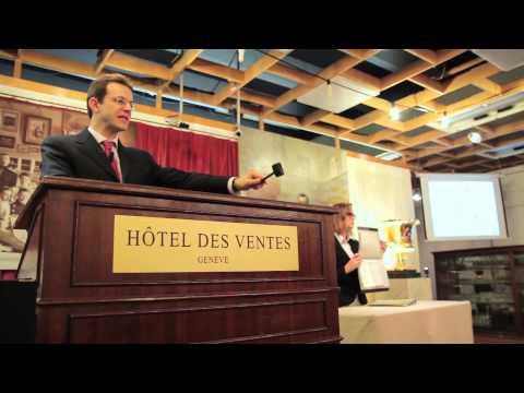 Hôtel des ventes à Genève