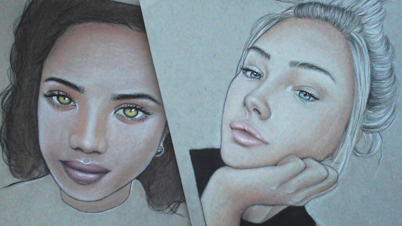 Color Skin Tones Easy & Quick Hd!  Alpha Art