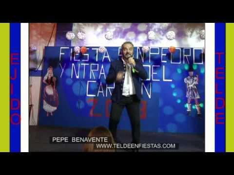 Pepe Benavente Fiestas San Pedro Ejido Telde 6 7 2013