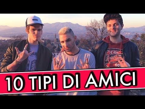 10 TIPI DI AMICI - iPantellas