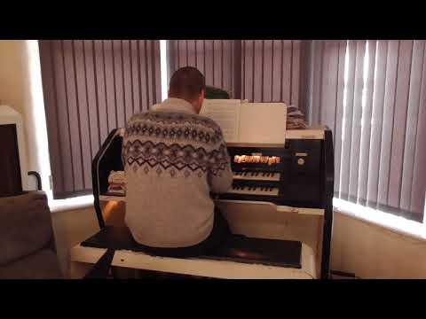 Memories of you - Chris Lawton at his home Compton organ