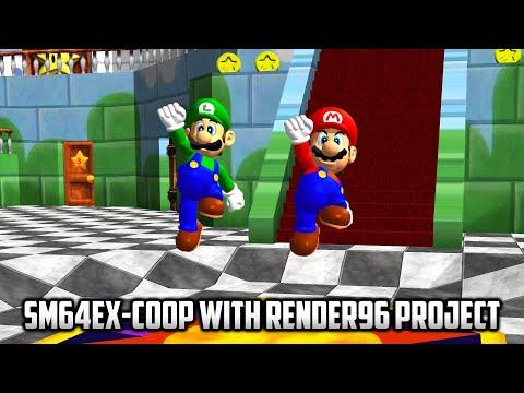 ⭐ Super Mario 64 PC Port - Mods - Sm64ex-coop: Online Cooperative Multiplayer Mod - With Render96