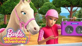 Barbie Italiano 💖Trey a Cavallo 💖Barbie Dreamhouse Adventures 💖Cartoni Barbie