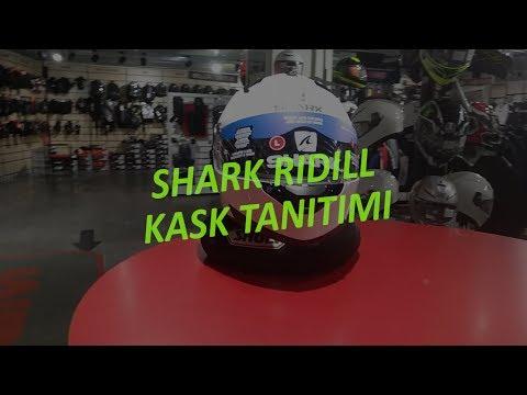 Shark Ridill Kask Tanıtımı المغرب Vizionlv