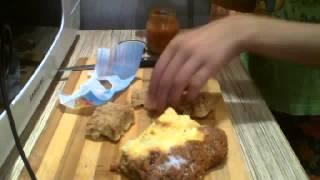 Шоооууууу!!!!!Кулинария С Мадиной!!! Пирожок и начик черемуха и пюре!!