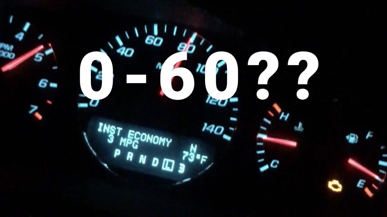 2012 Impala Acceleration