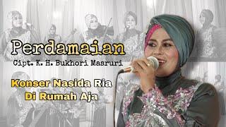 PERDAMAIAN - NASIDA RIA KONSER DI RUMAH AJA ( Live Performance )