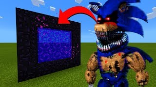 How To Make A Portal To The Sonic Animatronic Dimension in Minecraft!