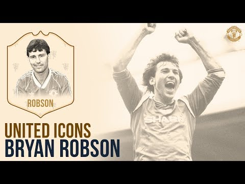Manchester United Icons | Bryan Robson | Captain Marvel