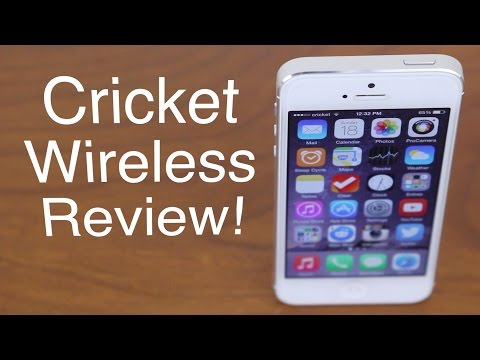Cricket Wireless Review!