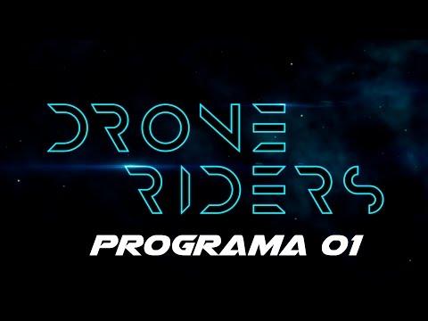 DroneRiders #01 - Drones de carreras por TV - DDC & BTV & Mediapro