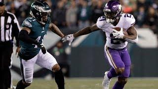 Vikings vs. eagles 2018 nfc championship game highlights | nfl