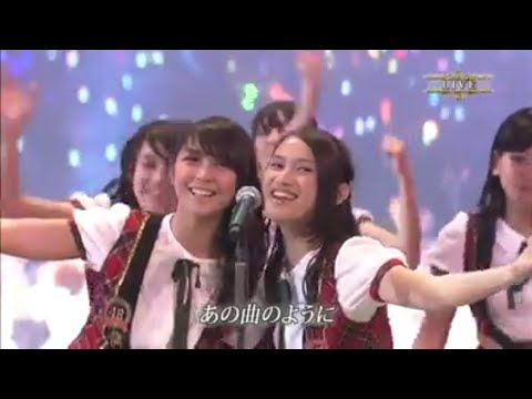 〘Concert〙48 Group - Heavy Rotation + Ponytail To Shushu (at Nippon Budokan 2013) .