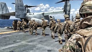 MV-22 Osprey Sea-Based Raid • U.S. Marines