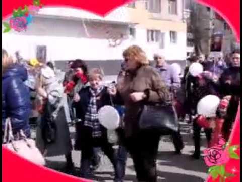 Парад  Победы детский сад 58 Кушва