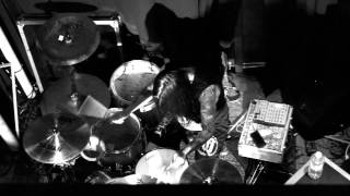 BLACK TONGUE - WASTE - Aaron Kitcher Drum Cam - Andrew Baena