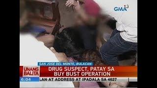 UB: Drug suspect, patay sa buy bust operation