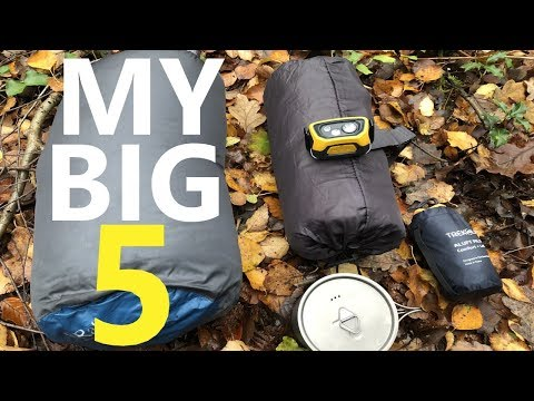 My Top 5 Best Backpacking Gear Items For 2019