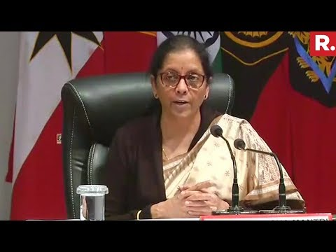 Defence Minister Nirmala Sitharaman Speaks On Srinagar Incident | Full Video