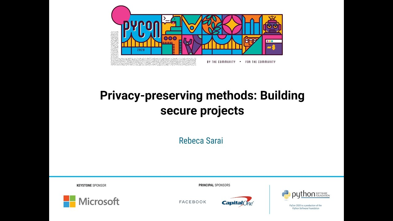 Image from Privacy-preserving methods: Building secure projects