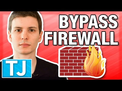 How to Get Past Any Web Blocker Firewall (Bypass School Fire