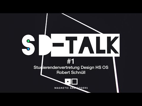 SD Talk #1 - Robert Schnuell - Magnetc and Coders