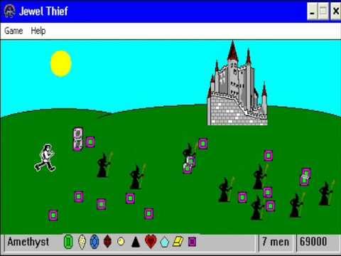 Awsome Pc Puzzle Game: Jewel Thief!