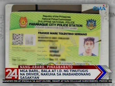 24 Oras: Kotseng pinagbabato matapos mang-araro ng ilang sasakyan, napag-alamang carnapped