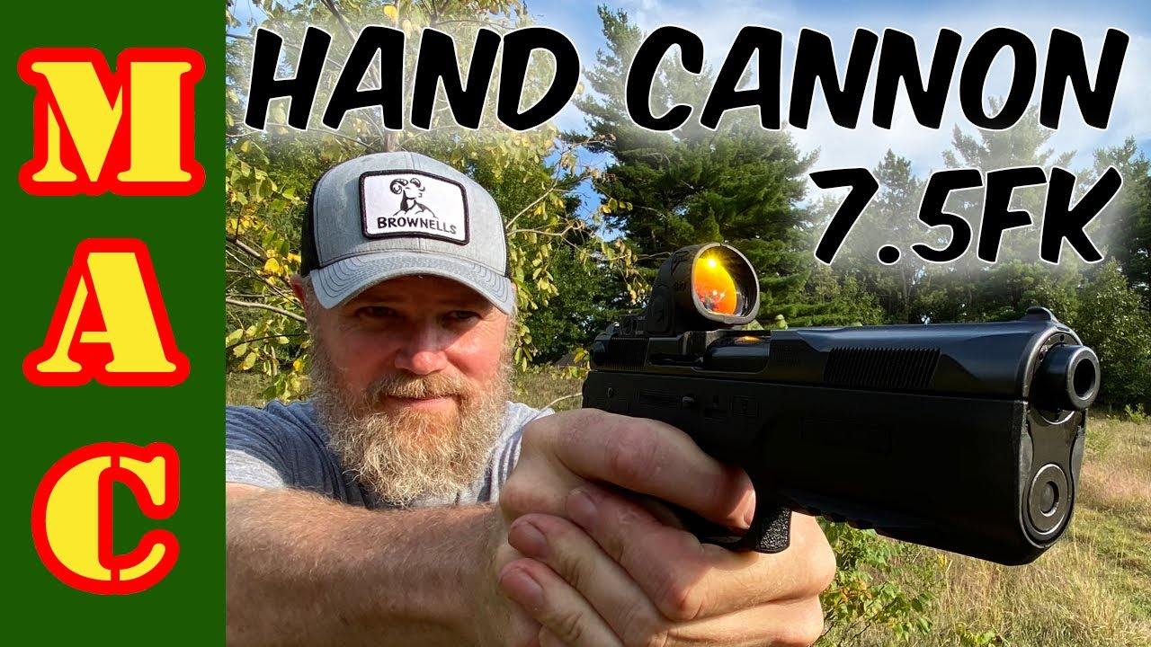 HAND CANNON! New 7.5FK PSD pistol with 10mm barrel!