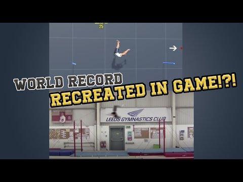 download Pro Gymnast: recreating Ashley Watson's world record