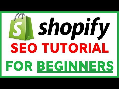 Shopify SEO Optimization Tutorial For Beginners | Step By Step FREE TRAFFIC thumbnail