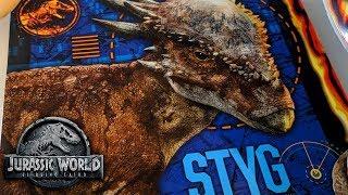 STYGIMOLOCH: IMÁGENES, GRAN IMPORTANCIA Y MÁS! Jurassic World 2 Fallen Kingdom