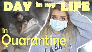 Living with COVID-19 DAY IN MY LIFE in QUARANTINE VLOG | & how I kept my family safe (from corona)