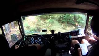 A few moments of pure fun. Rallye Breslau 2012 Pinzgauer Team #260