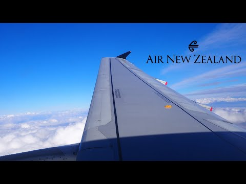 Air New Zealand Airbus A320-232 [ZK-OJR] • FULL FLIGHT • Auckland To Wellington ANZ405