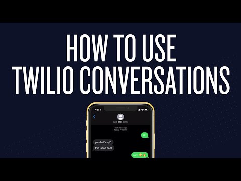 How To Use Twilio Conversations API (Twilio Chat To SMS Tutorial)