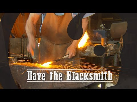 Dave the Blacksmith - Our Wyoming