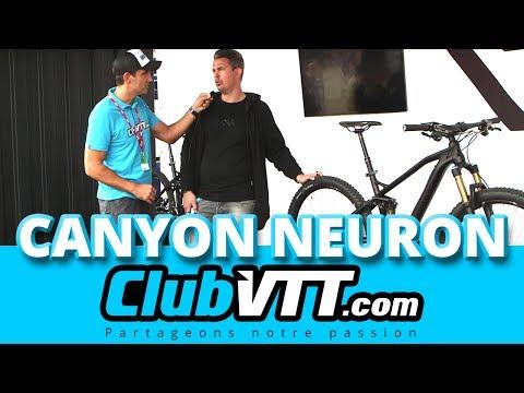 CANYON NEURON - Le nouveau vtt CANYON au Roc d