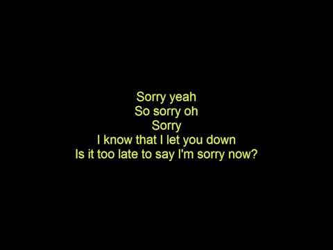 Sorry -  Rizky Febian  Cover