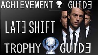 Late Shift Trophy/Achievement Guide - Platinum Walkthrough All Choices