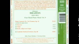 Brahms - Academic Festival Overture op. 80 (piano 4 hands)