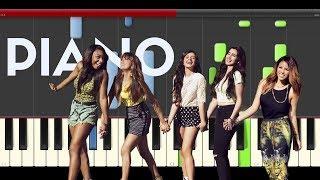 Hotel Transilvania 2 Piano Fifth Harmony I m Love whith a Monster Tutorial Midi Karaoke Cover