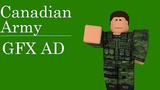GFX de l'Armée canadienne (en anglais seulement) Roblox Speed Art (roblox Speed Art)