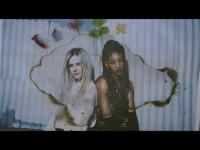 WILLOW + Avril Lavigne - G R O W feat. Travis Barker (Visualizer)