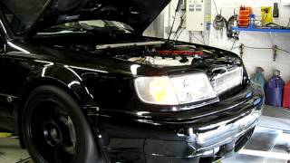 1994 Audi S4 GT35R Dyno Run on Pump 91 Octane 488whp