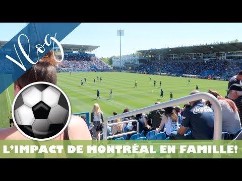 L'Impact de Montréal en famille!!! / De la lumière au bout du tunnel! / Vlog #433