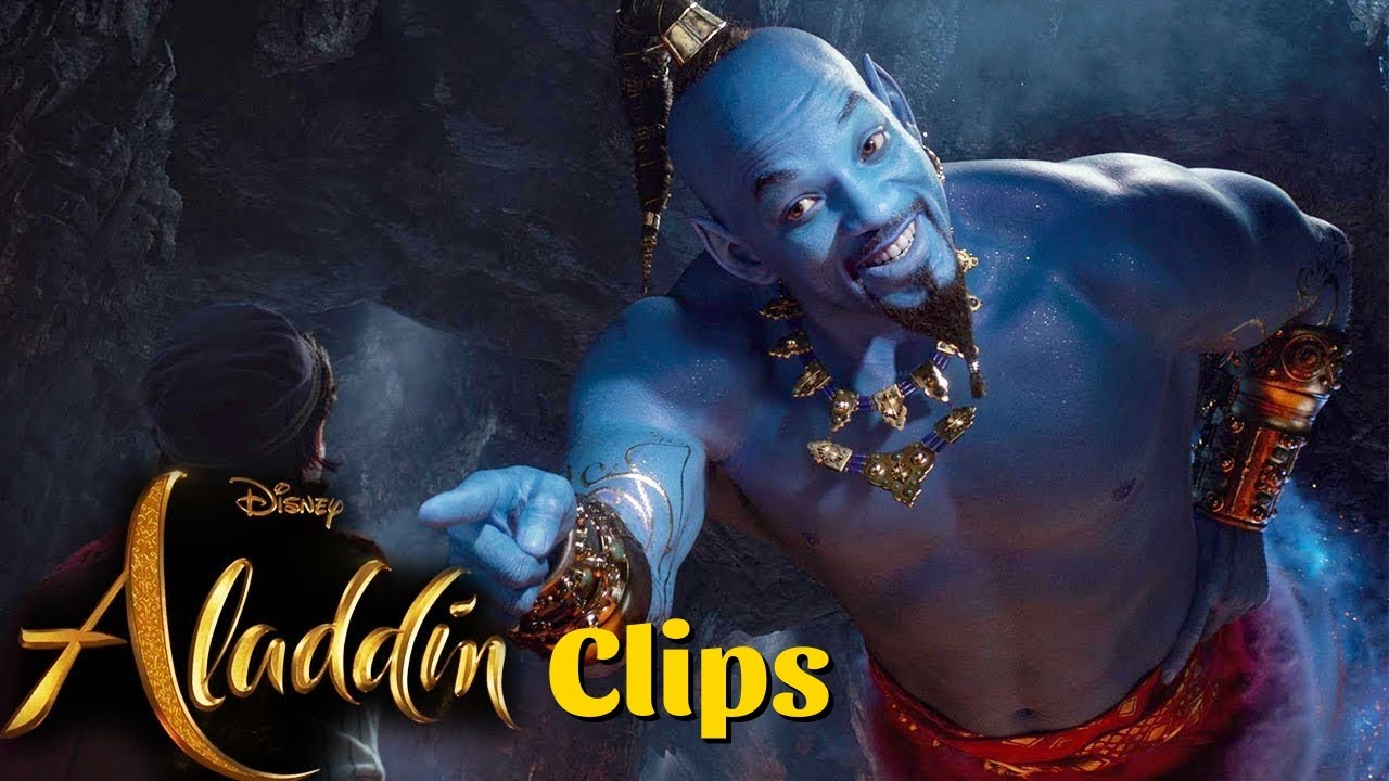 Download Jinnie Clips From Aladdin Movie in HINDI
