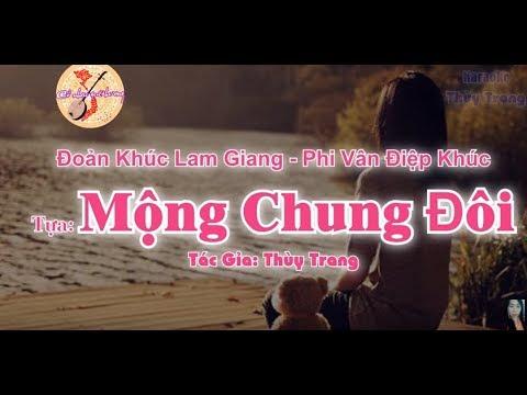Karaoke -Đoản Khúc Lam Giang - Phi Vân Điệp Khúc - Tựa: Mộng Chung Đôi ( đào)